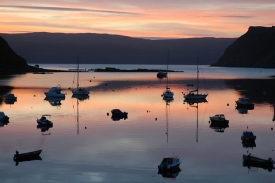 Portree Harbour (image Richard Cross)