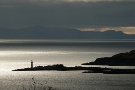 Isle Ornsay from Leitir Fura