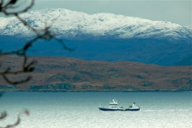 Knoydart across the Sound of Sleat