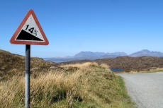 Road to Tarskavaig (image Richard Cross)
