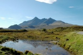 Black Cullin from Sliagahan (image Richard Cross)